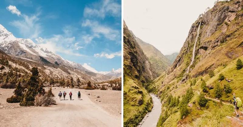 Annapurna Circuit oder Manaslu Circuit