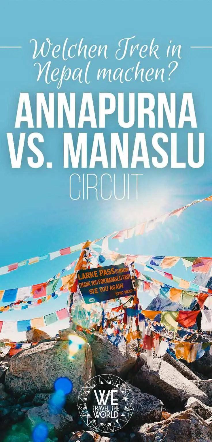 Nepal Trekking: Annapurna oder Manaslu Circuit