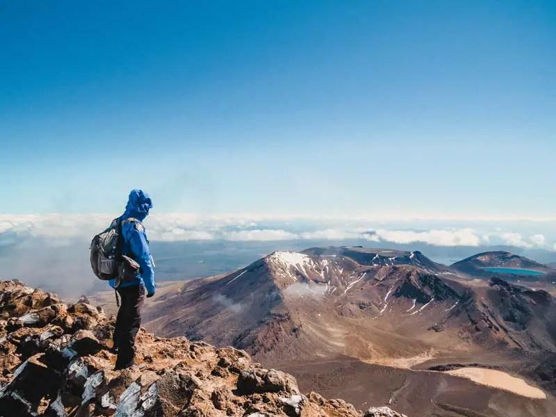 Neuseeland Wanderungen - Tongariro Alpine Crossing
