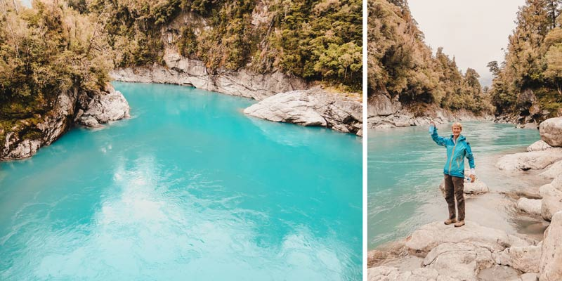 Neuseeland Südinsel Highlights Hokitika Gorge