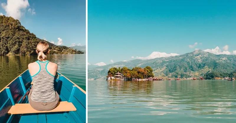 Pokhara Sehenswürdigkeiten Phewa Lake