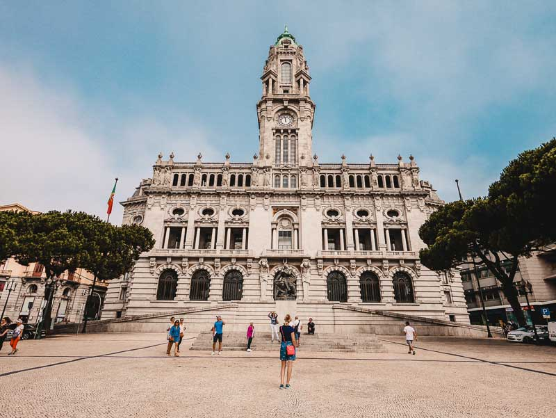 Rathaus – Porto Sehenswürdigkeiten, Reisetipps & Highlights