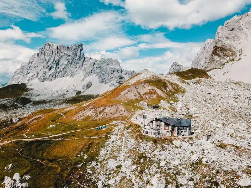 Carschinahütte Prättigauer Höhenweg