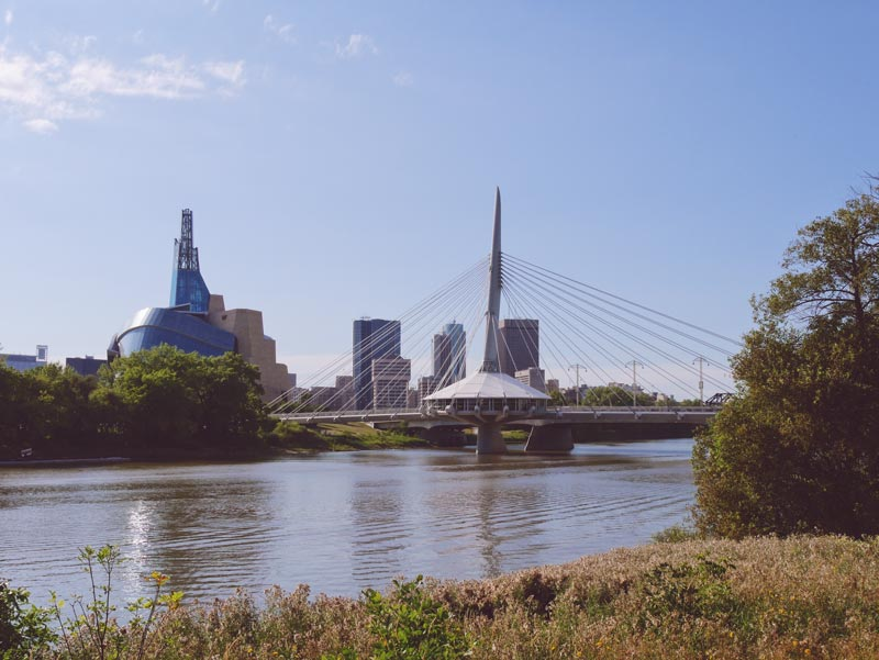 Provencher Brücke Winnipeg