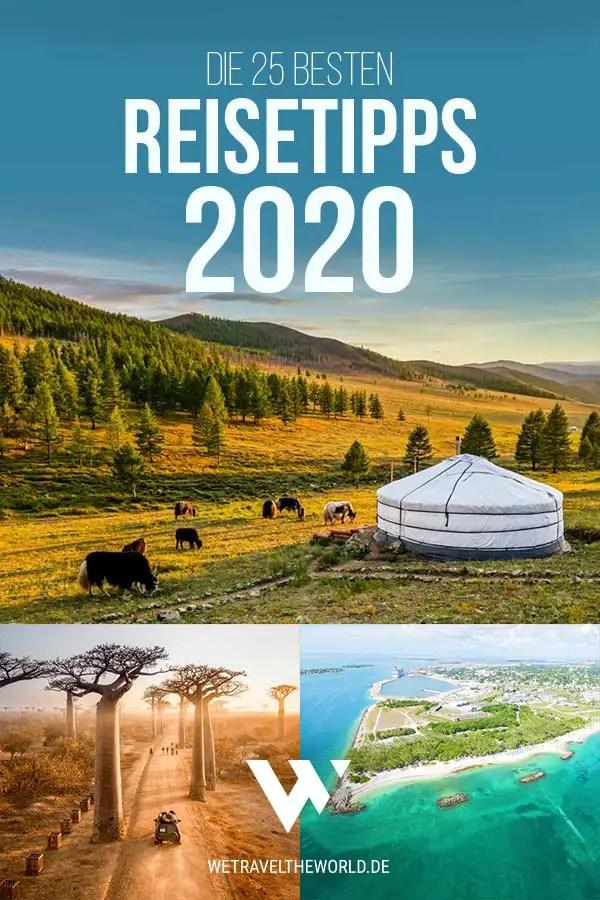Reisetipps 2020: Die 25 besten und schönsten Reiseziele 2020 #inspiration #reisetipps2020 #reiseziele2020