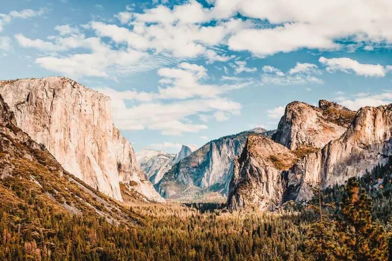 Reiseziele April Yosemite Nationalpark
