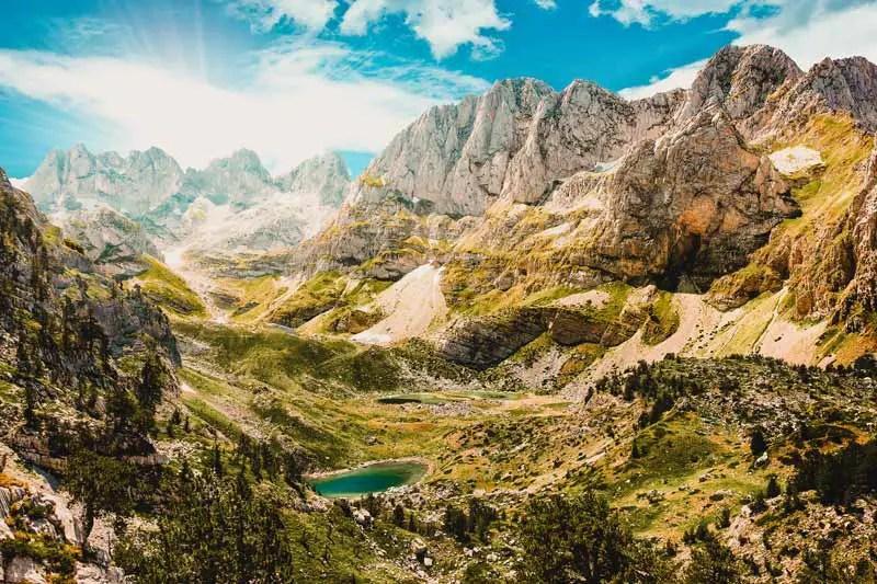 Reiseziele August Albanien