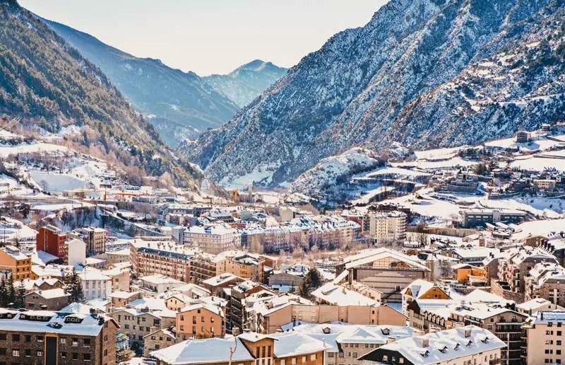 Reiseziele Februar Andorra