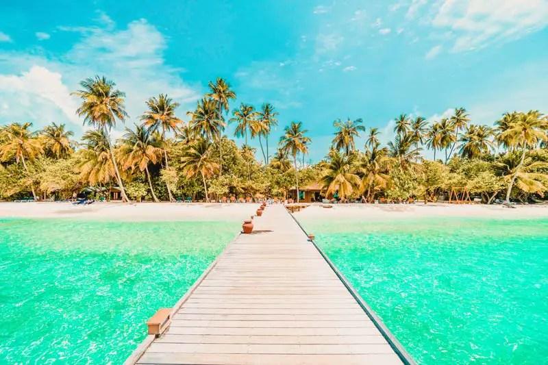Reiseziele Januar Malediven