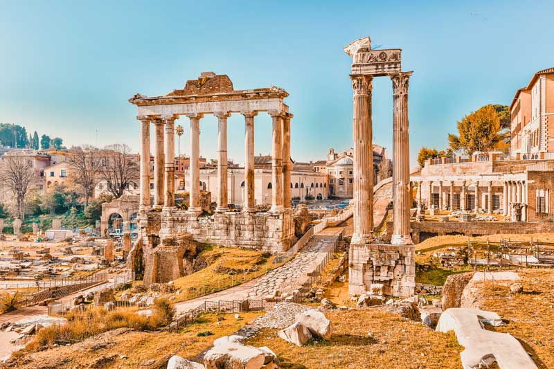 Rom Sehenswürdigkeiten Forum Romanum