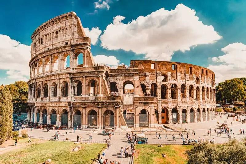 Damals In Rom...