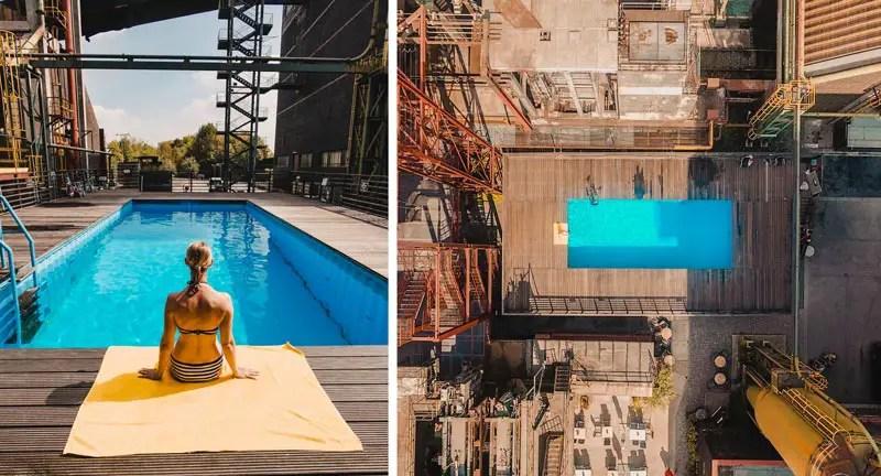 Ruhrgebiet Werksschwimmbad Zeche Zollverein – Ruhrgebiet Aktivitäten und Reisetipps