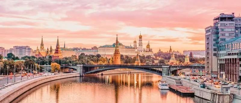 Russland Sehenswürdigkeiten, Highlights und Reisetipps Kreml