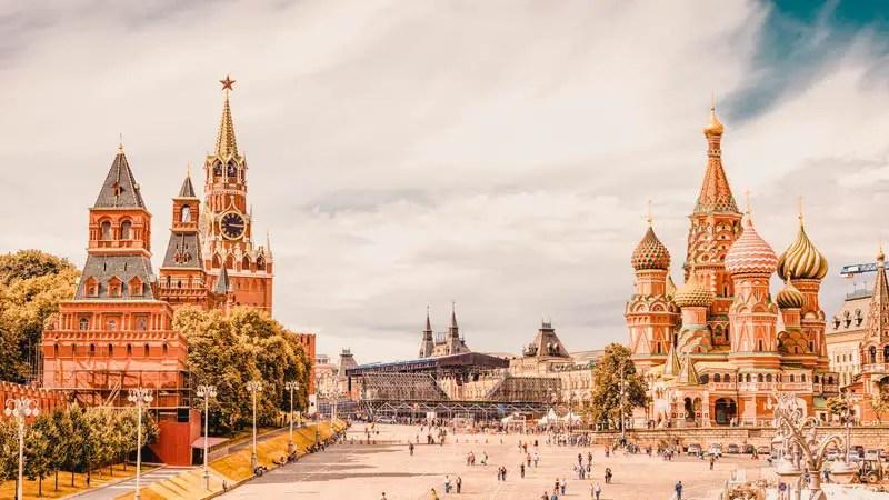 Russland Sehenswürdigkeiten, Highlights und Reisetipps Roter Platz