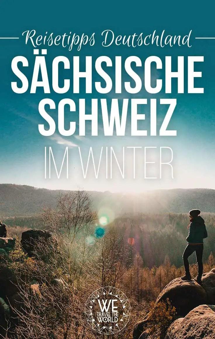 Reisetipps Deutschland: Die Sächsische Schweiz im Winter