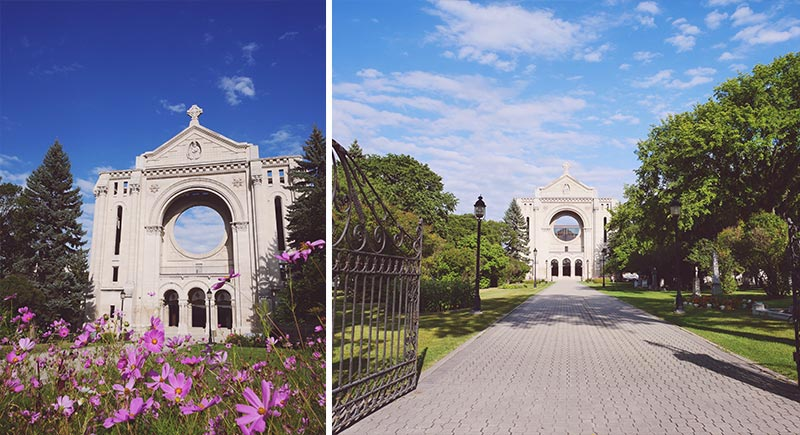 Saint Bonifacius Cathedral Winnipeg