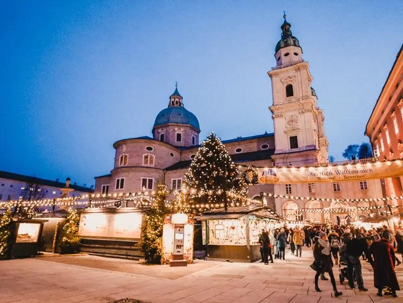 Christkindlmarkt – Salzburg Sehenswürdigkeiten im Winter