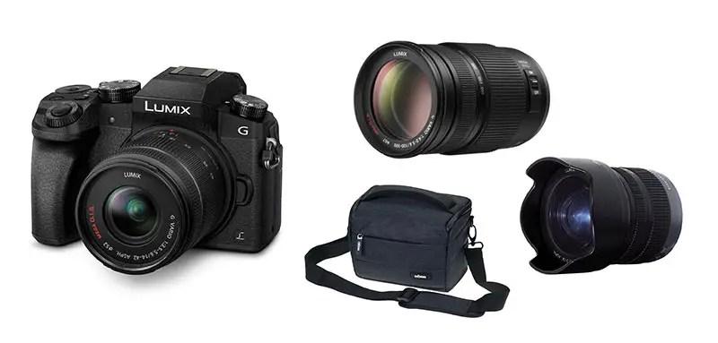 Technik Packliste – Unsere Kamera und Objektive