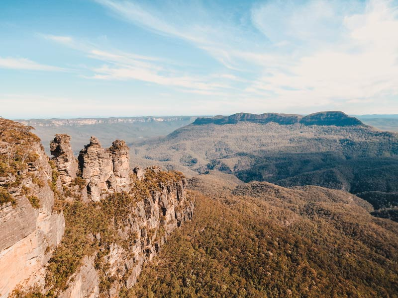 Sydney Sehenswürdigkeiten Blue Mountains Three Sisters