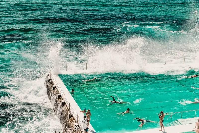 Sydney Sehenswürdigkeiten Bondi Icebergs