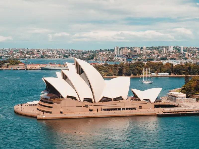 Sydney Sehenswürdigkeiten Oper