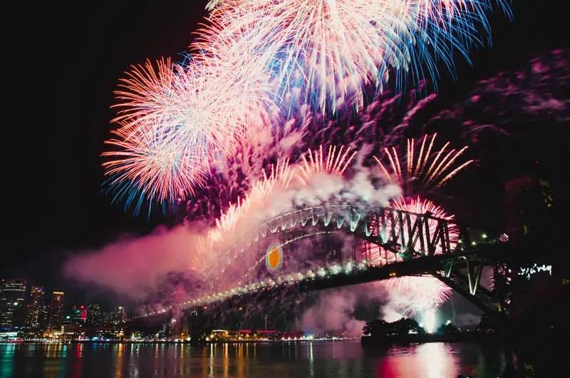 Sydney Sehenswürdigkeiten Silvester
