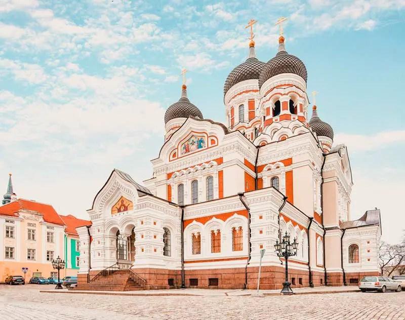 Tallinn Sehenswürdigkeiten Alexander-Newski-Kathedrale