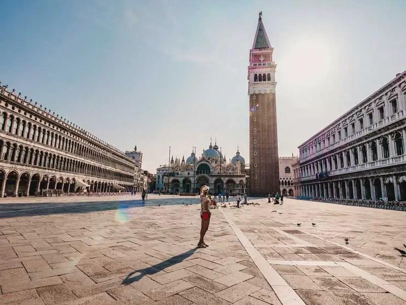 Venedig Sehenswürdigkeiten Markusplatz
