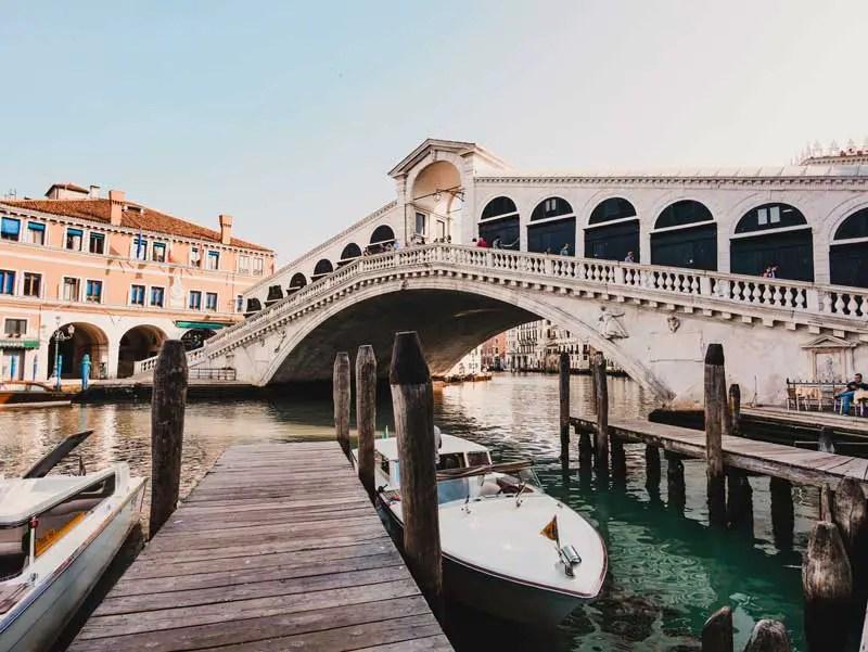 Venedig Sehenswürdigkeiten Rialtobrücke