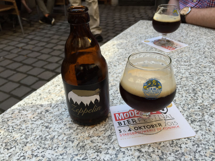 belgisches bier zeppelin