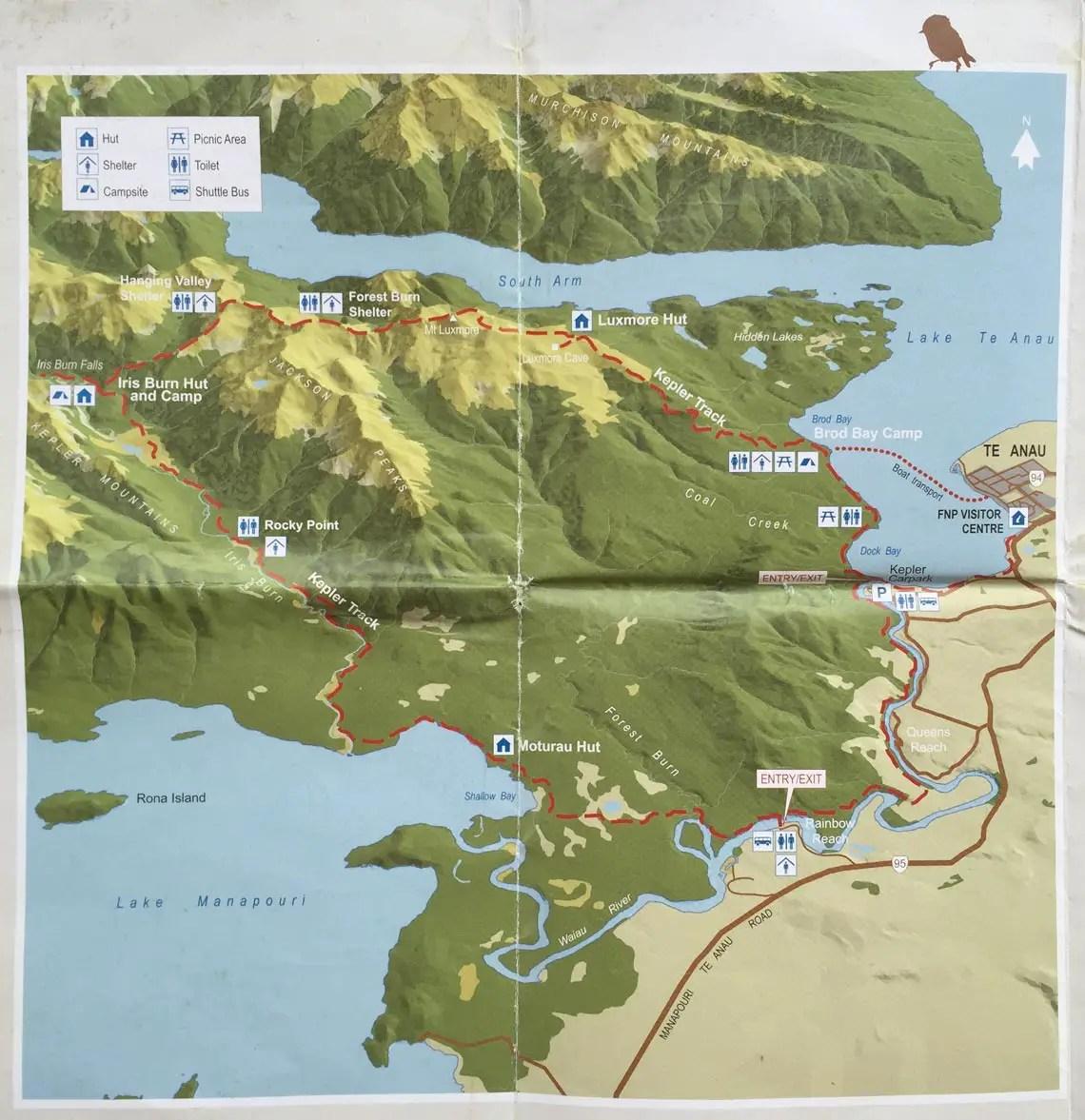 neuseeland kepler track