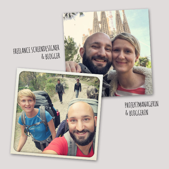 Reiseblogger aus Wiesbaden, Caro und Martin von WE TRAVEL THE WORLD wetraveltheworld
