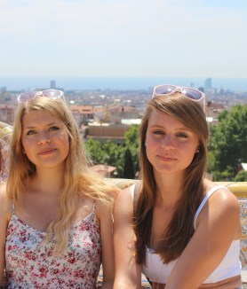 Tanja und Ines von we treat you in Barcelona