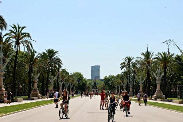 Spazierweg Barcelona