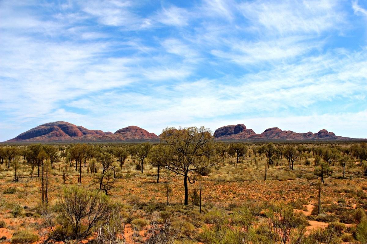 Kata Tjuta im Outback Australiens