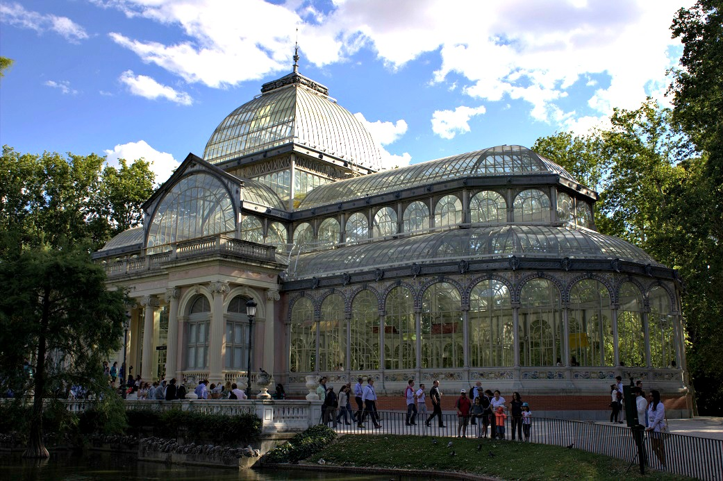 Palacio Cristal in Madrid