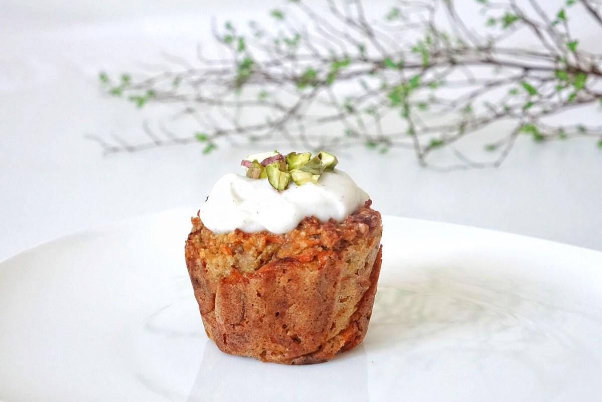 Karotten Muffin von der Seite