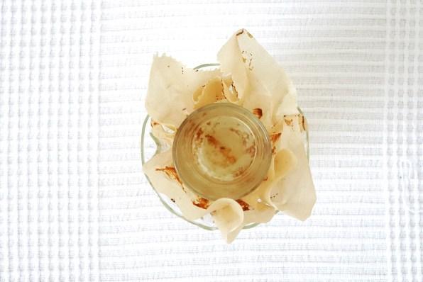Muffinförmchen selbst gemacht von oben