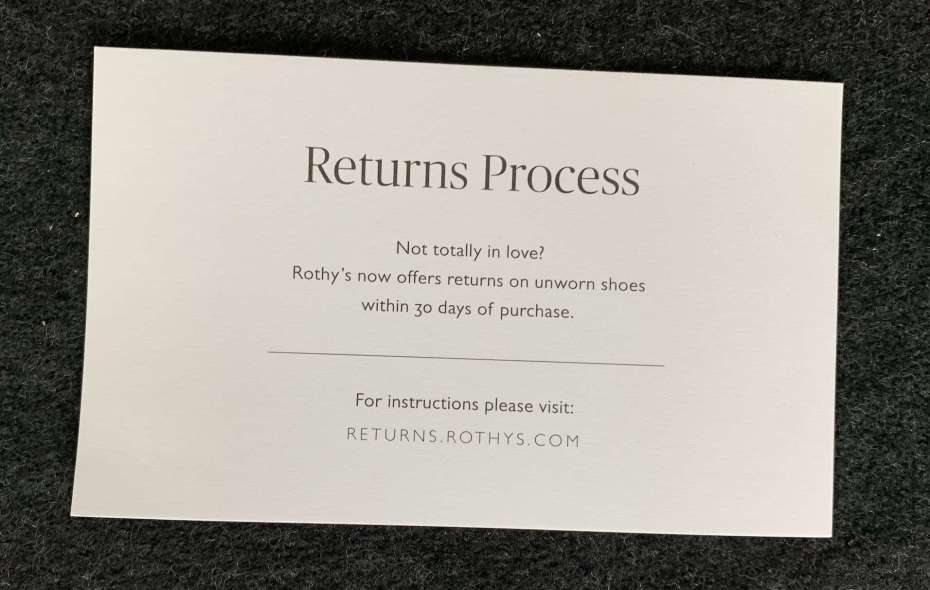 Rothy's Review: An honest review of the internet's hottest shoe brand rothys-return-policy-1024x650