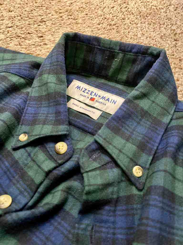 Mizzen + Main Flannel review 6