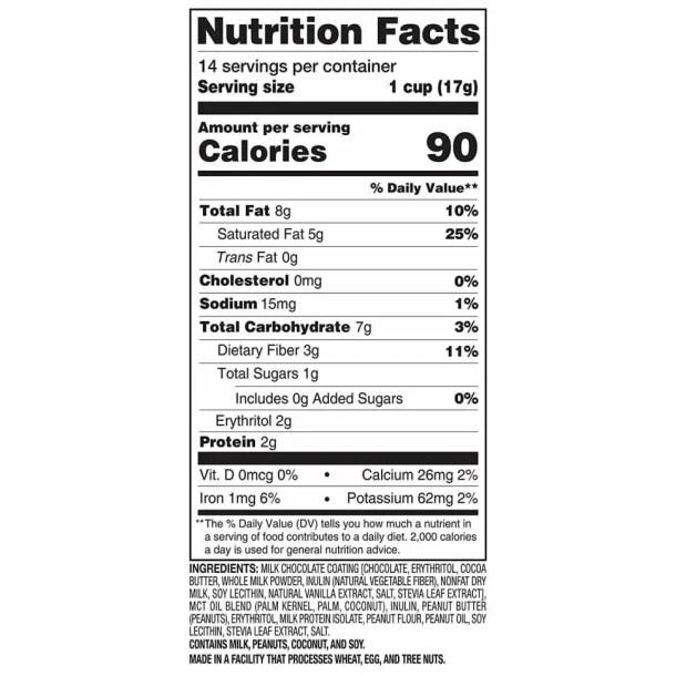 Best Keto Snacks on Amazon Keto-Slim-Fast-Nutrition-Facts--Low-net