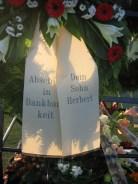 Beerdigung von Anneliese Reckers