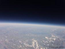 19808.9 m ü. M., -55.94°C: Blick in Richtung Bodensee und Bayern