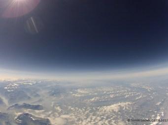 12415.7 m ü. M., -60.87°C: Flughöhe von Passagierflugzeugen