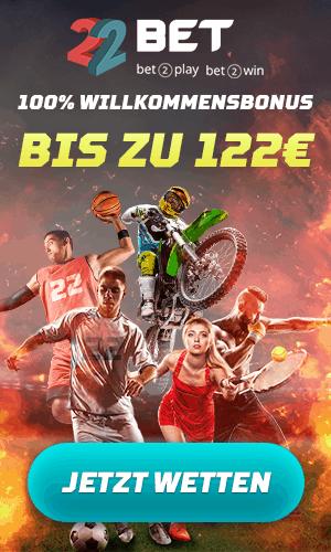 22Bet Bonus 2019