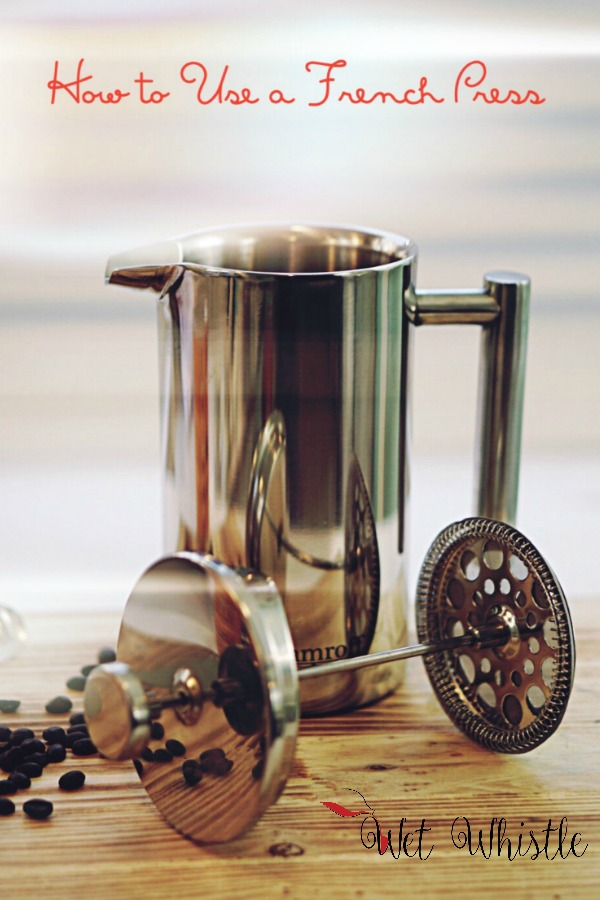 Using a French Press is much easier than it looks. It only takes some knowledge and a bit of practice to have a spectacular cup of coffee!