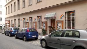 Vienna, Austria gay bookstore