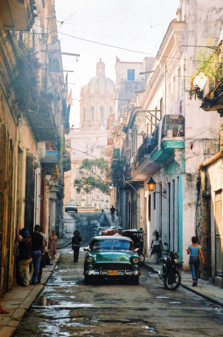 Classic car on the streets of Havana