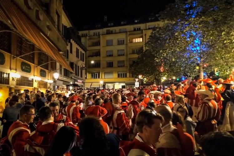 Fête des Vignerons performers celebration