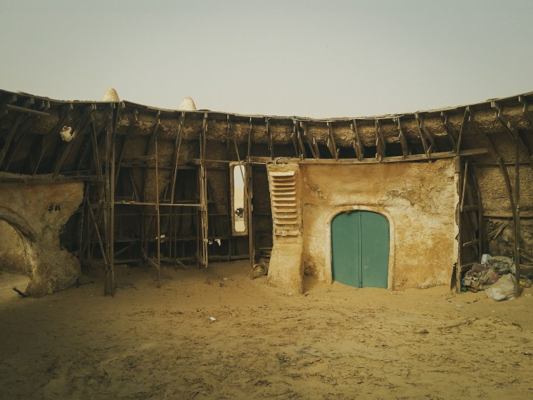 Star Wars film locations in Tunisia- behind the scenes of Mos Espa, Tatooine.